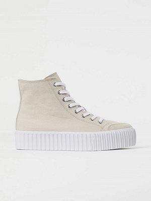 H&M Platåsneakers beige