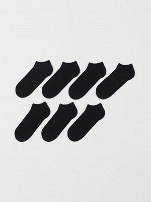 H&M 7-pack sneakersstrumpor svart