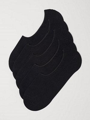 H&M 5-pack sneakersstrumpor svart