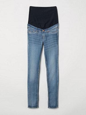 H&M MAMA Skinny Jeans blå