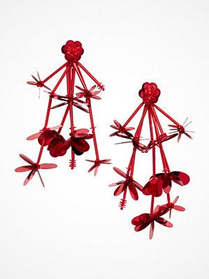 H&M Långa örhängen röd