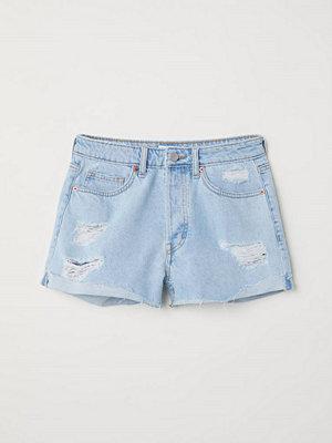 H&M Jeansshorts blå