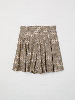 H&M Mönstrade shorts beige