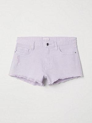 H&M Jeansshorts lila