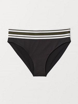 H&M Bikinitrosa High Rise svart
