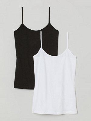 H&M 2-pack trikålinne svart