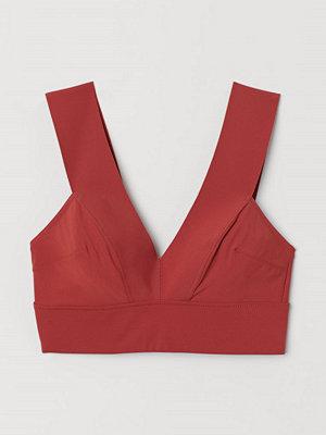 H&M Bikinitopp röd