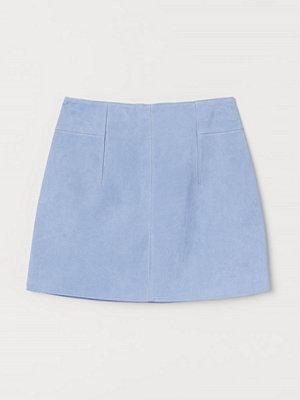 H&M Kort mockakjol blå