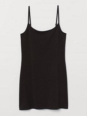 H&M Långt linne svart
