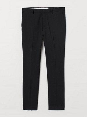 H&M Kostymbyxa Super Skinny Fit svart
