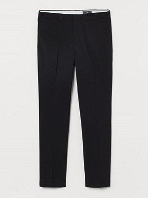 Byxor - H&M Kostymbyxa Skinny Fit svart