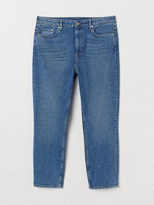 H&M H & M+ Vintage Slim Ankle Jeans blå