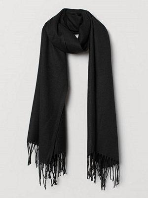 H&M Vävd scarf svart