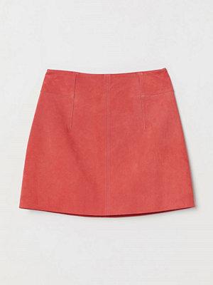 H&M Kort mockakjol röd