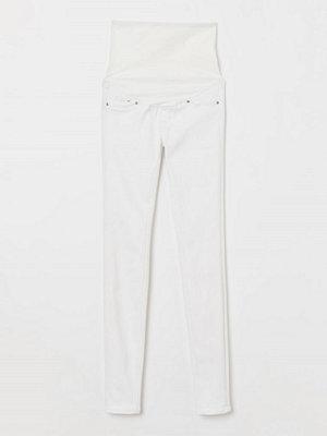 Jeans - H&M MAMA Super Skinny Jeans vit