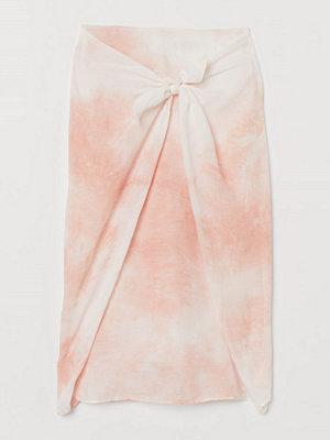 H&M Batikmönstrad kjol i lyocell rosa