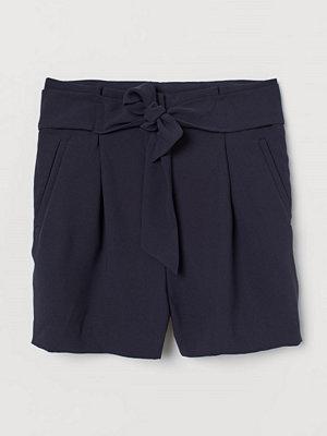 H&M Dressade shorts blå