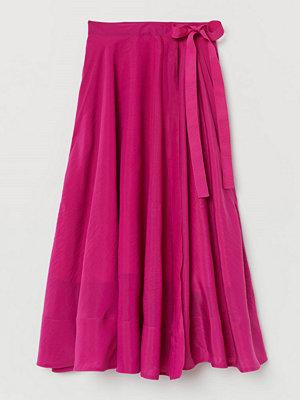 H&M Omlottkjol i lyocellmix rosa