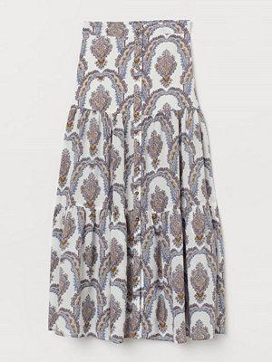 Kjolar - H&M Mönstrad kjol vit