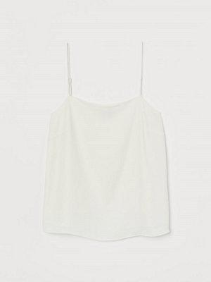 H&M Crêppat linne vit