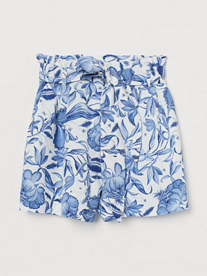H&M Paper bag-shorts vit