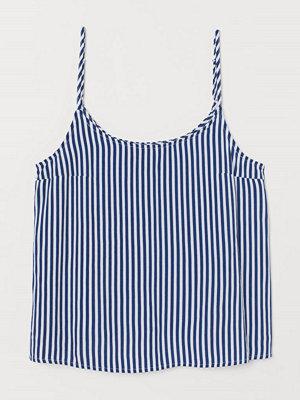 H&M Mönstrat linne blå