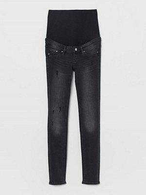 Jeans - H&M MAMA Skinny Jeans svart