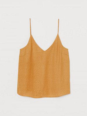 H&M V-ringat linne gul