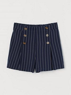 H&M Mönstrade shorts blå