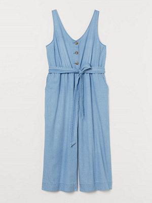 Jeans - H&M H & M+ Jumpsuit i denim blå