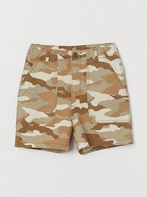 Shorts & kortbyxor - H&M Cargoshorts beige