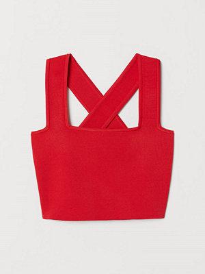 H&M Kort topp röd