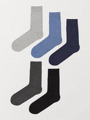 Strumpor - H&M 5-pack strumpor blå