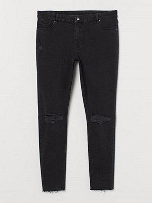 H&M H & M+ Skinny Ankle Jeans grå