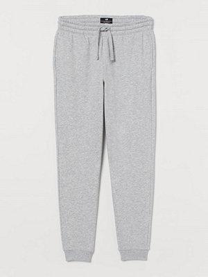 H&M Sweatpants Regular Fit grå