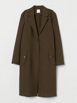 H&M Rak kappa grön