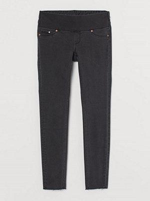 Jeans - H&M MAMA Super Skinny Jeans svart
