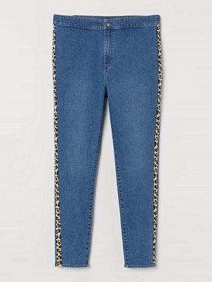 Jeans - H&M H & M+ High Ankle Treggings blå