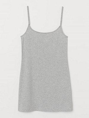 H&M Långt linne grå