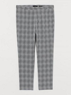 H&M Kostymbyxa Skinny Fit grå