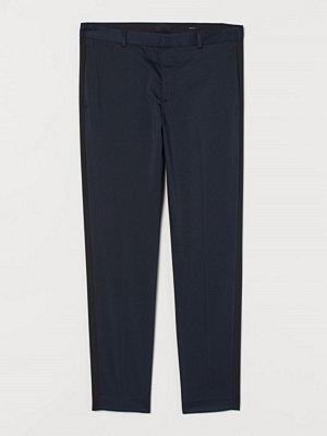 H&M Kostymbyxa Skinny Fit blå