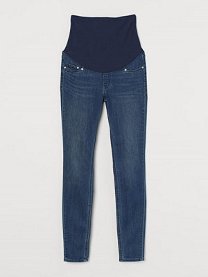 Jeans - H&M MAMA Super Skinny Jeans blå