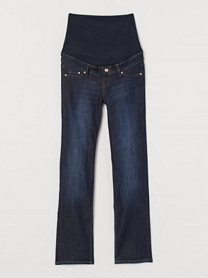 H&M MAMA Straight Jeans blå