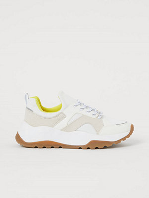 H&M Sneakers i mesh vit