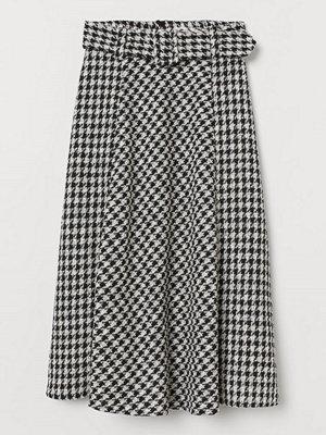 Kjolar - H&M Jacquardvävd kjol svart