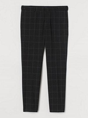 H&M Kostymbyxa Skinny Fit svart