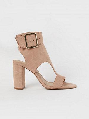 Pumps & klackskor - H&M Sandaletter beige
