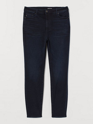 Jeans - H&M H & M+ Shaping High Jeans blå