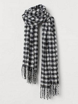 H&M Stor halsduk svart