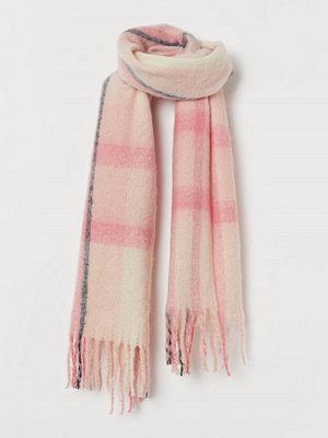 H&M Stor halsduk rosa